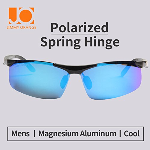 pour magnésium frame homme lenses soleil de qualité blue Orange black haute Lunettes Cyclisme de aluminium de JO671 soleil de Lunettes polarisées femme Jimmy et w1zvpxq6vI