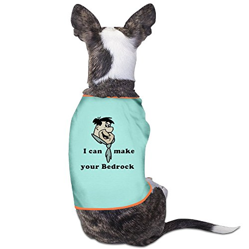 [Cool The Flintstones Fred Flintstone Cartoon Pet Dog T Shirt.] (Wilma Flintstone And Betty Rubble Costumes)