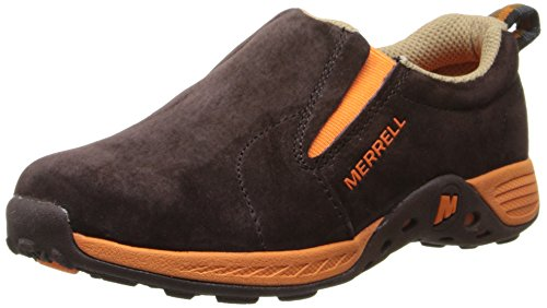Merrell Jungle Moc Sport ,Brown/Orange,4 W US Big Kid