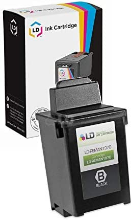 USA Advantage Remanufactured Ink Cartridge Replacement for Lexmark 12A1970 Black,1 Pack