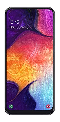 "Samsung Galaxy A50 US Version Factory Unlocked Cell Phone with 64GB Memory, 6.4"" Screen, Black, [SM-A505UZKNXAA]"