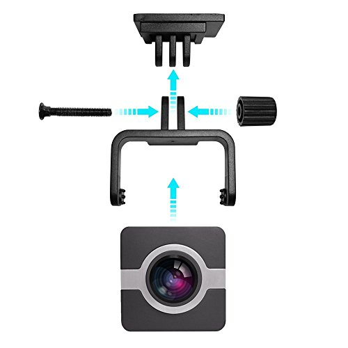 fannuoyi Dash Camera X1 4K WIFI Mini HD 1080p 160 Wide An...