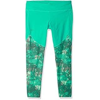 Under Armour Women's Vanish Printed Leggings, Green Malachite (349)/Tonal, Large