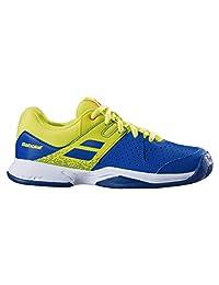 Babolat Pulsion AC Junior Tennis Shoe (Blue/Yellow)