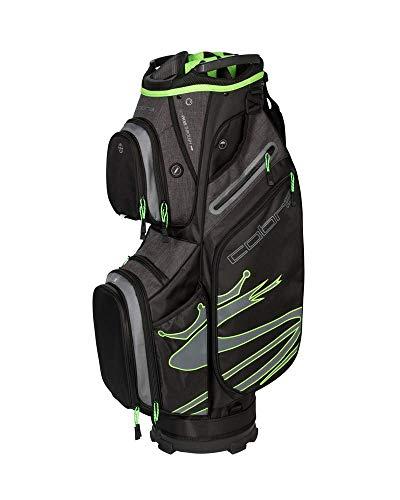 - Cobra Golf 2019 Ultralight Cart Bag (Black-Green)