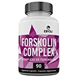 EBYSU Forskolin Extract - 90 Capsules Weight Loss & Appetite Suppressant Supplement - Diet Pills & Belly Buster Supplement - Metabolism Booster, Carb Blocker & Fat Burner for Women and Men - Beauty Health Cleanse