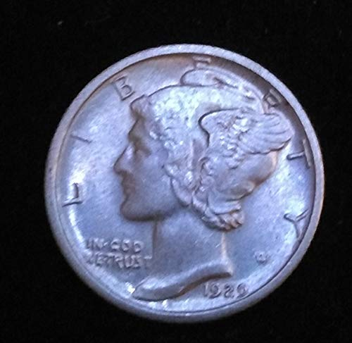 1916 Mixed Date/Mint Marks -1945 U.S. Winged Liberty Head/Mercury Dime Brilliant Uncirculated US Mint