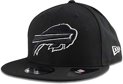 New Era Buffalo Bills Hat NFL Black White 9FIFTY Snapback Adjustable Cap Adult One Size]()