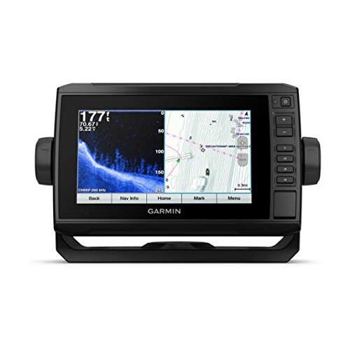 Garmin 010-01894-01 Echomap Plus 74Cv with CV23M-TM transducer, 7 inches by Garmin