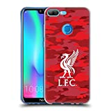 Official Liverpool Football Club Home Colourways Liver Bird Camou Soft Gel Case for Huawei Honor 9N (9i)