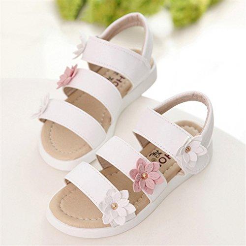 Sandales d'été Toddler Princesse Chaussures d'enfant Romain Fleurs Big Filles Chaussures Chaussure 11 Sandales Kids Gland 5 Little Kids 0HqwE7Ox