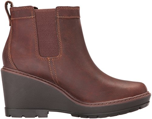 Timberland Women's Kellis Double Gore Chelsea Boot Medium Brown Euk21kK