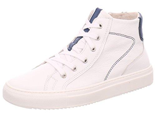 Marco Tozzi 22 25211 26 130 - Botas de Piel para mujer Blanco blanco Blanco - blanco