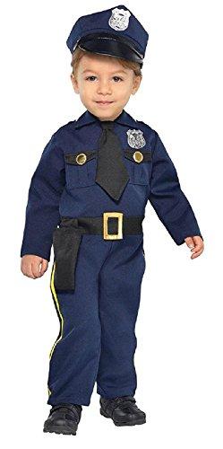 Cop Recruit Costume - Baby (Toddler Cop Costume)