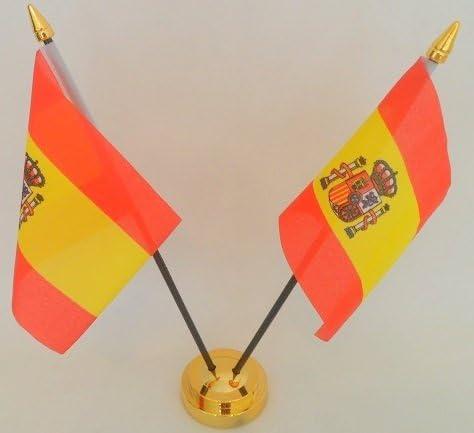 Flag Co España de Estado Español 2 Bandera de Mesa Escritorio ...