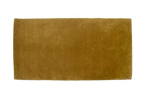 Minuteman International Sienna Solid Wool Hearth Rug, Rectangular