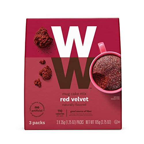 Weight Watchers Red Velvet Mug Cake Mix