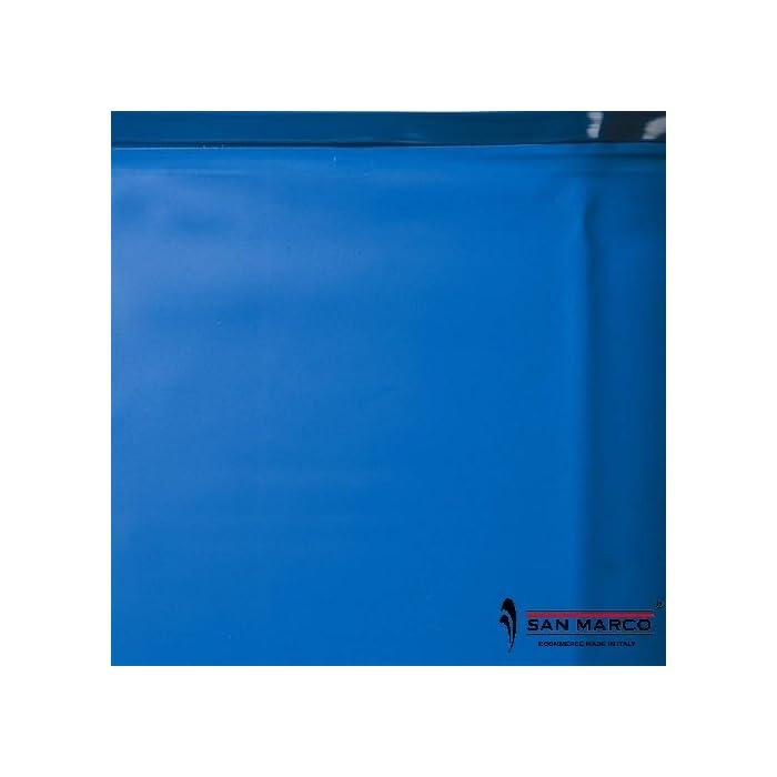 Escalera de acero inoxidable de 4 peldaños. Tapiz protector de poliéster. Referencia gre: kpeov6159
