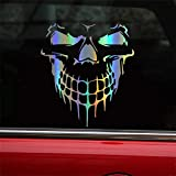 HungMieh Skull Stickers and Decals for Car