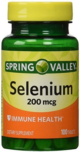 Spring Valley - Selenium 200 mcg, 100 Tablets by Spring Valley