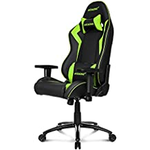 AKRacing Core Series SX Gaming Chair with High Backrest, Recliner, Swivel, Tilt, Rocker & Seat Height Adjustment Mechanisms, 5/10 Warranty - Green