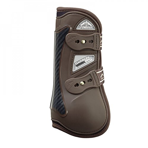 Veredus - Carbon Gel Open Front - Horse Boots - Made in Italy - Brown