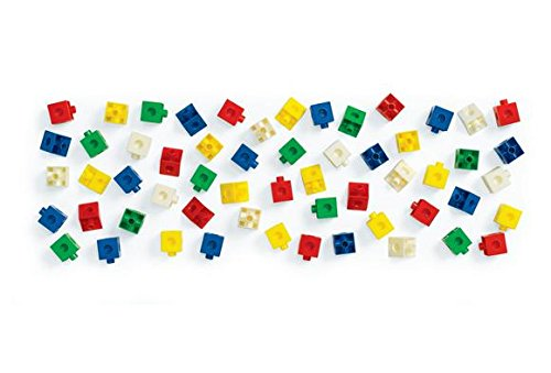 Excellerations Linking Linking Cubes and Triangles (Pack of 360)