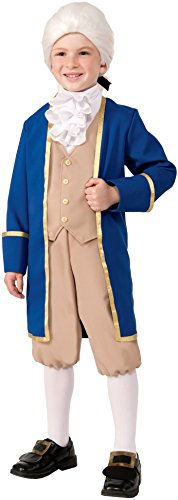 Colonial America Costumes Kids (Forum Novelties Deluxe George Washington Costume, Medium)
