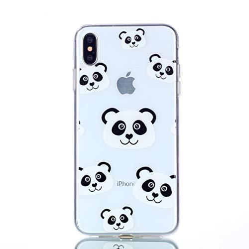 Fait pour TPU léger iPhone et de Rigide Coque 8 Housse téléphone XS dans Ultra étui X 5 inShang étui Panda Mate9 Portable Coque inch Slip Le Anti matériel Mince iPhone R4zTqqw