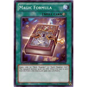 Yu-Gi-Oh! - Magic Formula GLD4-EN044 Common Gold Series 4 (Magic Formula)