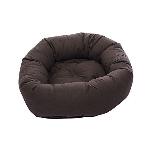 Dog Gone Smart Repelz-It Donut Bed, 27 Inches, Espresso