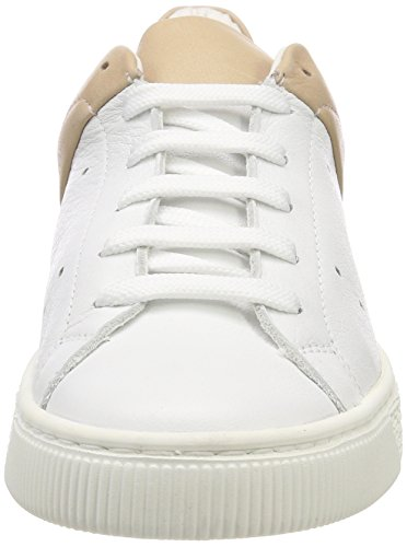 490 Rosa para Zapatillas Powder Bianco Mujer Duo Sneaker xqtTwZxX0O