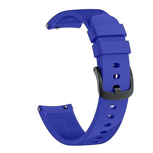 (Cathy Clara New Sport Soft Silicone Replacement Wristband Wrist Strap for Samsung Gear Sport Watch Band Strap for Men Woman)
