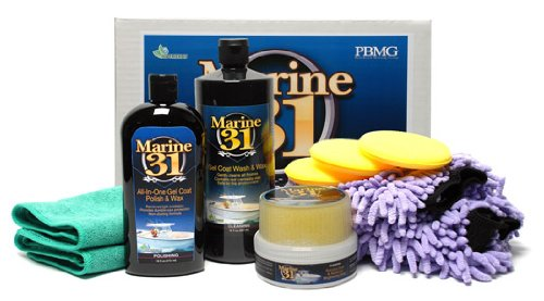 Marine 31 Detailer's Boat Care Kit