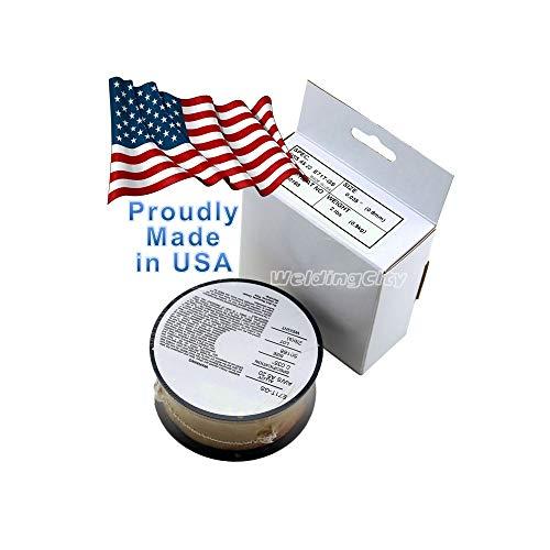 "WeldingCity USA Made Gasless Flux Core E71T-GS 2-Lb Spool 0.035"" Mild Steel MIG Welding Wire"
