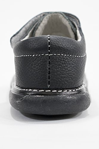Anderson Baby Care LLC Squeaky Shoes for Toddler Boys (4T, Black Loafer) by Anderson Baby Care LLC (Image #4)'