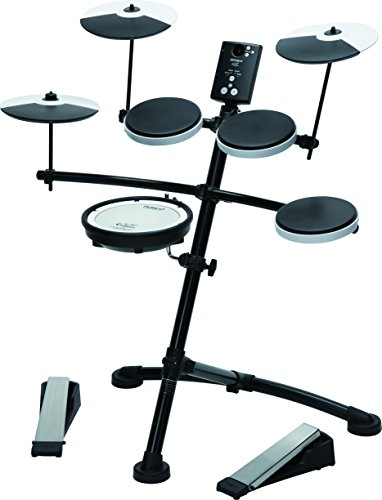 Roland TD1KV V-Drum Compact Electronic Drum Kit, Silent Kick, Mesh Snare Drum Head by R O L A N D