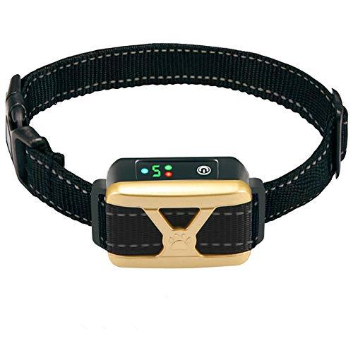 ZNFSZ Dog Bark Collar – Rechargeable Bark Collar 5 Adjustment Modes for Small Medium Large Dogs, Humane Anti Barking…
