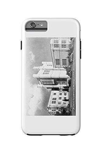 Berkeley, California - University of CA Student Co-Op Bldg Photograph (iPhone 6 Plus Cell Phone Case Cell Phone Case, (Bldg University)