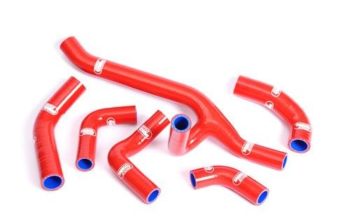 (Samco Radiator Hose Kit Aprilia RSV4 / RF / RR (2009+) (Red))