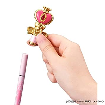 Sailor Moon Miracle Romance Liquid Eye Liner Spiral Heart Moon Rod Black