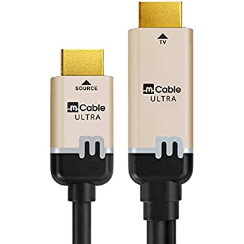 Marseille mCable - (5 Ft) The Only HDMI Cable that Improves Picture Quality via The World's Most Advanced 4K/UHD Video Processor