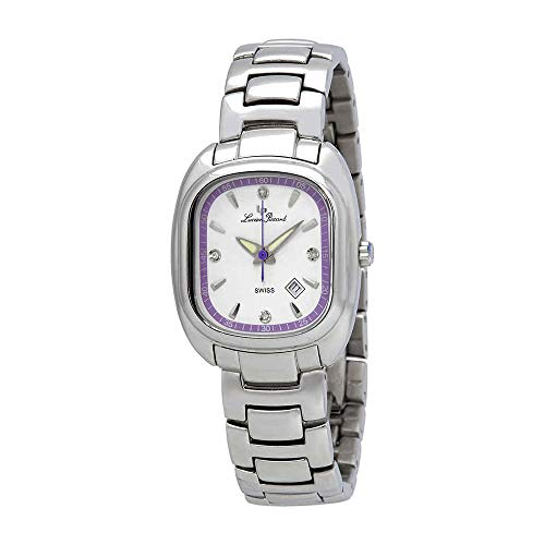 Lucien Piccard White Dial Stainless Steel Ladies Watch 1B-067