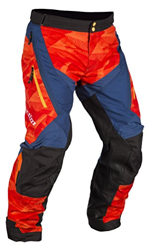 Klim Dakar Men's Off-Road Motorcycle Pants - Orange / 38