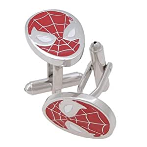 T&D Spider-Man Red Men's Cuff LinksGift Boxed
