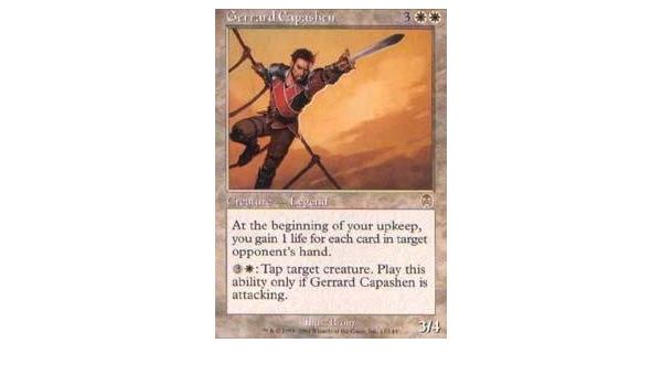 Gerrard Capashen Foil Played MTG Apocalypse Magic