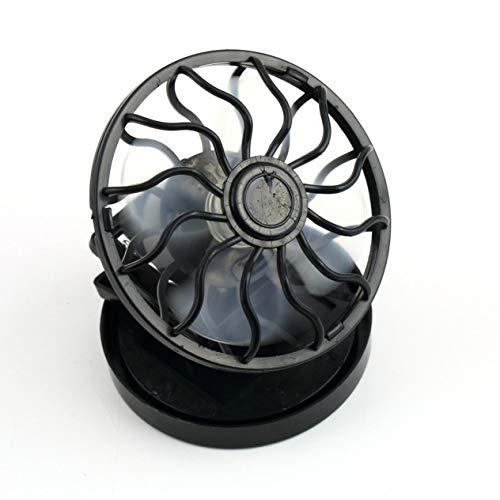 - Unitedheart Solar Fan,Energy Saving Clip-on Solar Power Cell Fan Sun Energy Panel Cooling Cool Black Portable Summer for Traveling Fishing Climbing