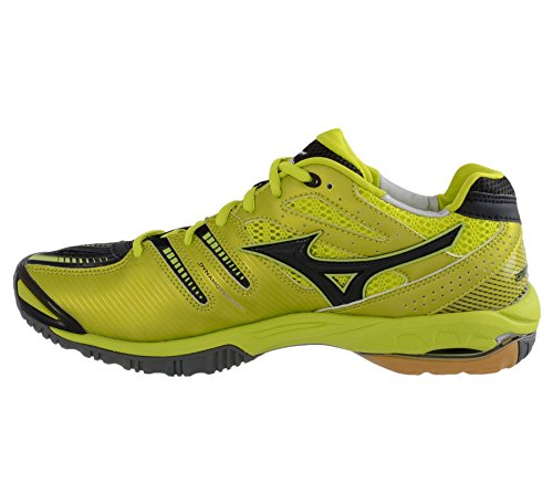 Indoor Size Stealth 14 Shoes 2 Mizuno Wave Court qFzSwtY