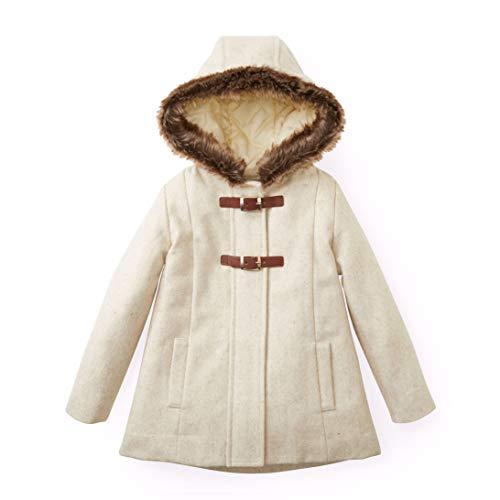 Hope & Henry Girls' Tan Wool Jacket