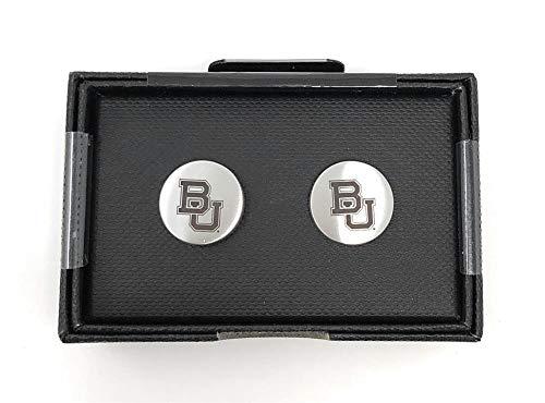 Laser Engraved Gifts Baylor University Bears Cuff Links Silver Cufflink Set